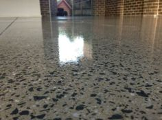 Concrete Polishing: Different levels of finish create a different sheen which are achieved depending on the diamond grit used to polish the floor.