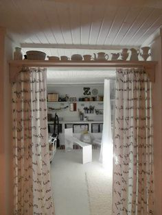 Lakbear has shared 1 photo with you! My Workspace, Loft, Curtains, Bed, Furniture, Home Decor, Photos, Blinds, Decoration Home
