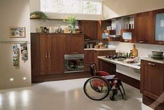 accessible kitchen design.  >>> See it. Believe it. Do it. Watch thousands of spinal cord injury videos at SPINALpedia.com