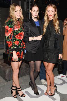 Chelsea Leyland, Laura Love and Harley Viera-Newton    - HarpersBAZAAR.com