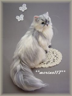 Another absolutely fabulous Needle Felted Cat!