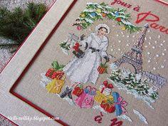 Nelli: Коробка для новогодних игрушек и Les Brodeuses Par...