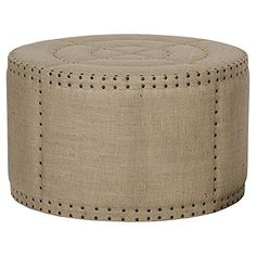 Adalene French Country Burlap Rustic Round Coffee Table O... https://www.amazon.com/dp/B00TAG1T1Y/ref=cm_sw_r_pi_dp_x_HovNybS3GBJVR