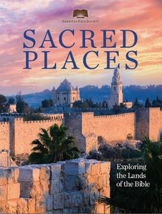 Read. Engage. Apply.: Sacred Places (New Book)