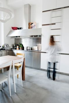Small space renovation in Italy. This stunning apartment is just 30 square meters. #interior #design #inspiration