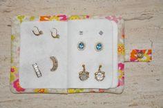 Jewelry Earring Wallet In the Hoop - FSF