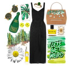 """Get Weird"" by cherieaustin ❤ liked on Polyvore featuring Oscar de la Renta, Charlotte Olympia, Kate Spade, Delpozo, Rodin, Sabbadini and LE VIAN"