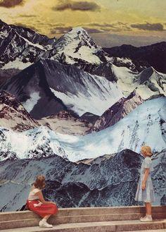 Beth Hoeckel // collage artwork