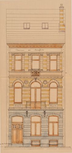 Schaerbeek - Avenue Albert Giraud 101 - LÉONARD Ed.