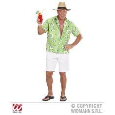 Déguisement Chemise Hawaï Homme