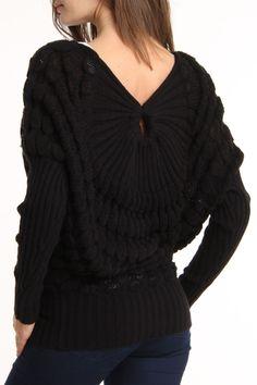 Dolman Textured Sweater