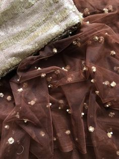 Mauve sequins work net saree comes with designer seq work blouse pc Colour Combination For Dress, Saree Color Combinations, Indian Outfits Modern, Indian Wedding Outfits, Churidar, Anarkali, Lehenga, Trendy Sarees, Stylish Sarees