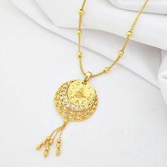 On Çeyrek Altınlı Halat Zincirli Kolye Gold Necklace, Jewellery, Metal, Gold Pendant Necklace, Jewels, Schmuck, Metals, Jewelry Shop, Jewlery