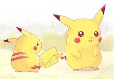 PikaPika. Pikachu (by ちろる [Chiroru], Pixiv Id 371566)