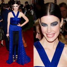 Punk frock: The good, the rad and the very, very ugly at the 2013 Met gala - Jessica Pare