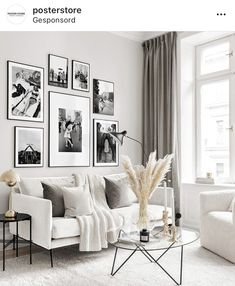Don't you ever let a soul in the world tell you that you can't be exactly who you are. From left: Woman Sunbathing with Chimpanzee… Simple Living Room, Living Room Modern, Home Living Room, Living Room Designs, Apartment Interior, Apartment Design, Wall Behind Sofa, Interiores Shabby Chic, Sitting Room Decor