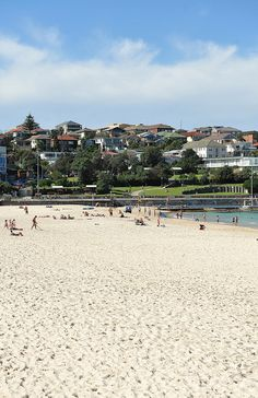 North Bondi also boasts a nice sandy strip... by Washy82, via Flickr Sydney Beaches, Plan Your Trip, Dolores Park, Australia, Explore, Nice, Places, Board, Travel