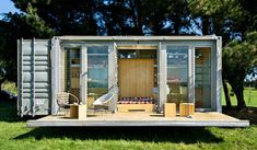 If you're looking for a unique home, why not create something cool with a shipping container?