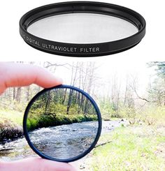Ultraviolet UV Multi-Coated HD Glass Protection Filter for Canon EF-S 60mm f//2.8 Macro USM Lens
