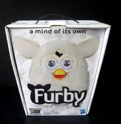 White Furby Replacement Storage Box Toy Electronic Plush NOT INCLUDED Box Only #Hasbro #furby