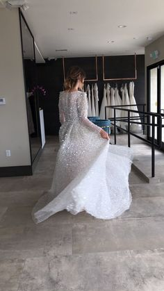 Say yes to the dress with this dream sparkly wedding gown. ✨✨✨ Gallery page filled with the most stunning wedding dresses to get you inspired for your big day. // Source by SweetEngagement Dresses Sparkly Wedding Gowns, Sparkly Gown, Engagement Dresses, Stunning Wedding Dresses, Wedding Dress Trends, Modest Wedding Dresses, Bridal Dresses, Dresses Dresses, Dance Dresses