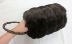 Festive Attyre: faux fur muff