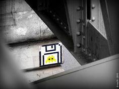 https://flic.kr/p/s9eeVz | Invaders - PA_990 | Invaders in Paris! ----------------------------------- PA-990 - Quartier de La Chapelle - Max Dormoy 18è