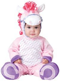 Pretty Lil' Pony Baby Costume--REALLY Cute #Halloween #Babies http://poshonabudget.com/2014/09/really-cute-halloween-babies.html via @poshonabudget