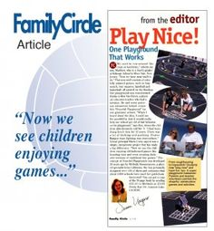 Family Circle article on Peaceful Playgrounds