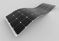 Flexible new solar panel is almost 80% lighter than traditional panels | Inhabitat - Green Design, Innovation, Architecture, Green Building