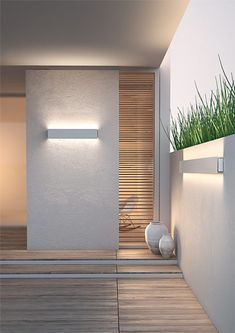 KIDES-DUO Extrusion - 18032ANODA | Klusdesign.com Led Recessed Lighting, Recessed Ceiling Lights, Accent Lighting, Wall Lights, Exterior Light Fixtures, Outdoor Light Fixtures, Entrance Lighting, Aluminum Screen, Design Simples