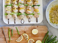 Grill up some of Foodie Crush's Greek-inspired grilled lemon chicken skewers as a zesty dinner option...for any season.  Check out the recipe right here.