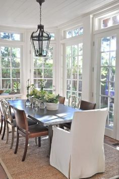 Love sun porches   by Giannetti Home
