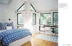 Lovely bedroom. (Lonny Sept 2012)
