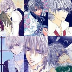 Vampire Knight- The Many Different Types Of Zero Kiryu. I Love Anime, Awesome Anime, Anime Guys, Manga Art, Anime Art, Matsuri Hino, Vampire Knight Zero, Yuki And Kaname, Knight Art