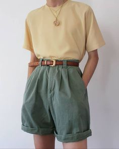149 hipster outfits that will make you look great - Kindermode 2020 Retro Outfits, Vintage Outfits, Mode Outfits, Cute Casual Outfits, Girl Outfits, Hipster Outfits, Hipster Clothing, 80s Inspired Outfits, Boyish Outfits