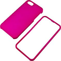 Rubberized Protector Case for Apple #iPhone 5, Magenta $9.99 From #DayDeal