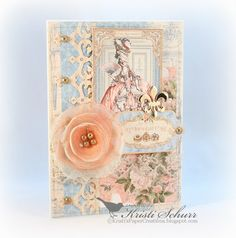Marie Antoinette Cards Made With Gilded Lily @graphic45