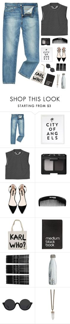 """""""25 June 2016"""" by chelsjames ❤ liked on Polyvore featuring Levi's, Monki, NARS Cosmetics, Zara, shu uemura, Dinks, 3.1 Phillip Lim and Givenchy"""