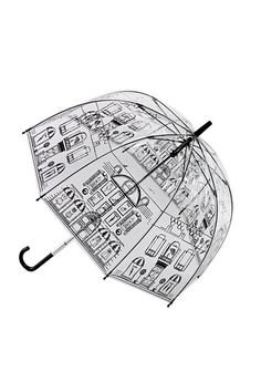Not only does it look stylish you can see where you are going.  Where can I find an unbrella like this in T.O.