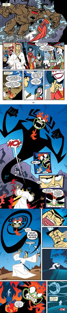 Remember that time in the comic when Aku pretended to be Jack's geisha girlfriend for MONTHS just to piss off Jack? | Samurai Jack | Know Your Meme