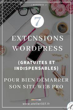 7 plugins WordPress indispensables pour son site web pro Source by cornelialaurent Wordpress Plugins, Blog Inspiration, Creer Un Site Web, Simple Web Design, Creation Site, Make Easy Money, Ui Design, Make It Simple, Content Marketing