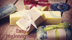 Making a Basic Beginner Soap, and Then Making it Fun!! |