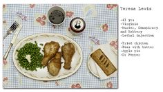 """No Seconds"" -- Photographer Henry Hargreaves' series examining the last meal requests of Death Row prisoners"
