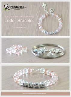 Easy Introduction on Making Letter Bracelet