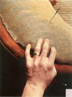 Обивка спинки кресла - Мягкая мебель - Практикум - Мебель своими руками - Золотые руки. Все о создании мебели