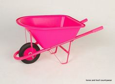 GPC Weelie Barrow - Child Just like mum and dads Robust and functional childs wheelbarrow Takes up to 20kg 20 litres Comes packed flat for assembly.