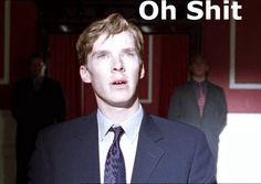 Ha!  This is a clip from MI-5!  The League of British Artists: David Tennant beats Benedict Cumberbatch in final ...
