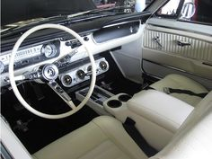 1965 Ford Mustang Interior - Wilson Auto Repair in Texas can restore and repair classic Ford Mustangs. Call 972-271-3579.
