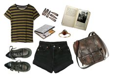 """Musk."" by hunkulez ❤ liked on Polyvore featuring Cheap Monday, Levi's and Dr. Martens"